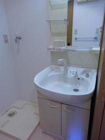 エクステリア宮島 502号室の洗面所