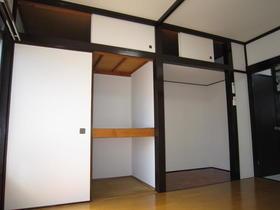 第二ほたか荘 222号室の収納