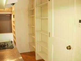 不動前アパートメント 2C号室の収納