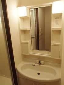 グランシャリオ 108号室の洗面所