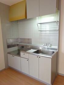 サンガーデン南町田C棟 101号室のキッチン