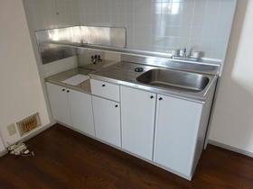 サンガーデン南町田B棟 201号室のキッチン