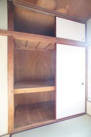 染谷荘 202号室の収納