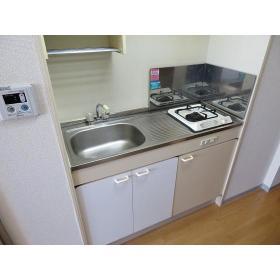 ソレイユ駒沢 0602号室のキッチン