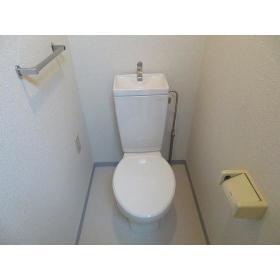 ソレイユ駒沢 0602号室のトイレ
