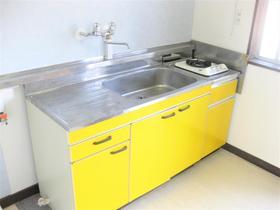 浅見ハイツ 201号室のキッチン