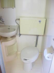 浅見ハイツ 201号室のトイレ