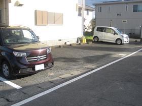 浅見ハイツ 201号室の駐車場