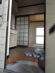 プリエール博多 105号室の玄関