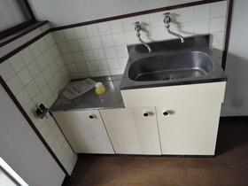 プリエール博多 105号室のキッチン