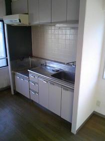 コパーズアプト碑文谷 301号室のキッチン