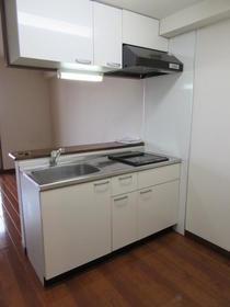 ルミナ 306号室のキッチン