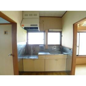 柳コーポ 103号室のキッチン