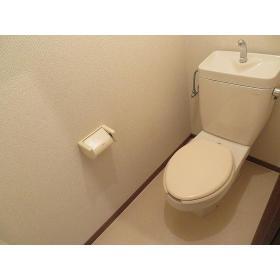 グレース布施 0301号室のトイレ