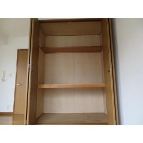 グレース布施 0301号室の収納