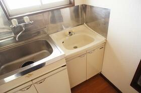 エステート21 B101号室の洗面所