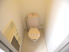 ヴィラガーデニアB 102号室のトイレ