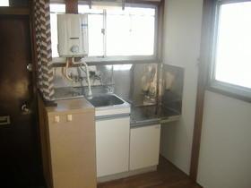ビラ雪谷 201号室のキッチン