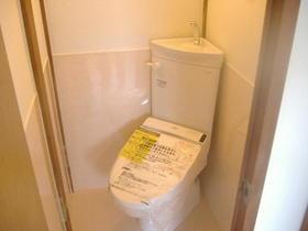 ビラ雪谷 201号室のトイレ