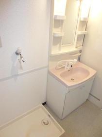 ヴィラコンプレール 208号室の洗面所
