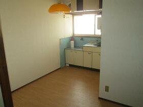 旭荘 23号室のキッチン