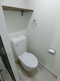 ハーミットクラブハウス目黒 04号室のトイレ