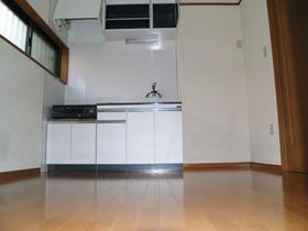 大竹荘 101号室のキッチン