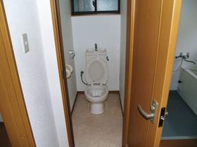 大竹荘 101号室のトイレ