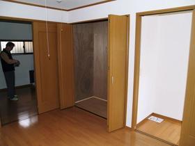 大竹荘 101号室の収納