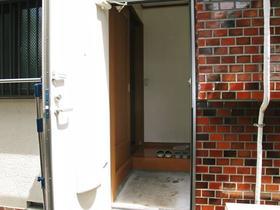 大竹荘 101号室の玄関