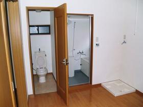 大竹荘 101号室の風呂