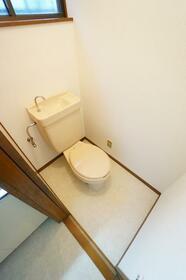 矢部貸家のトイレ