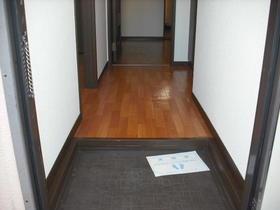 グランハイム川端-A 201号室の玄関