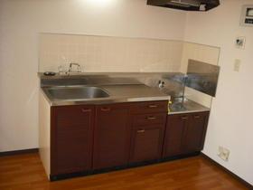 グランハイム川端-A 201号室のキッチン