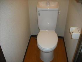 グランハイム川端-A 201号室のトイレ