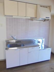 グレイストーエイI 402号室のキッチン