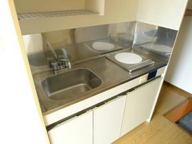 オオカワコート 302号室のキッチン
