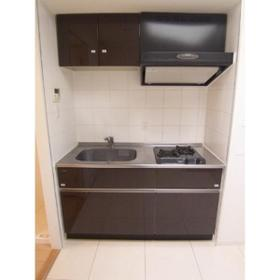 カスタリア尾山台 0305号室のキッチン