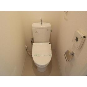 カスタリア尾山台 0305号室のトイレ