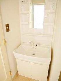 アスパイアーティクス 106号室の洗面所