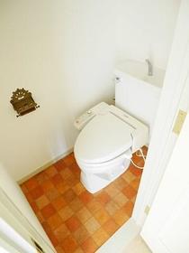 アスパイアーティクス 106号室のトイレ