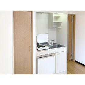 新都心プラザA 205号室のキッチン