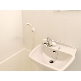新都心プラザA 205号室の洗面所