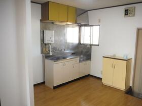 八葉コーポ 105号室のキッチン