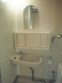 八葉コーポ 105号室の洗面所
