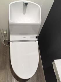 カリヨン 202号室のトイレ