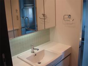 レジディアタワー中目黒 0305号室の洗面所