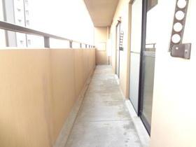 ホワイトリバー駅前 601号室のバルコニー