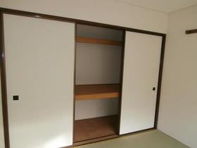 コートウイングW 102号室の収納
