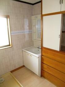 池谷テル子貸家の洗面所